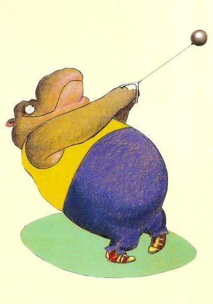 Hippo by Wolf Erlbruch