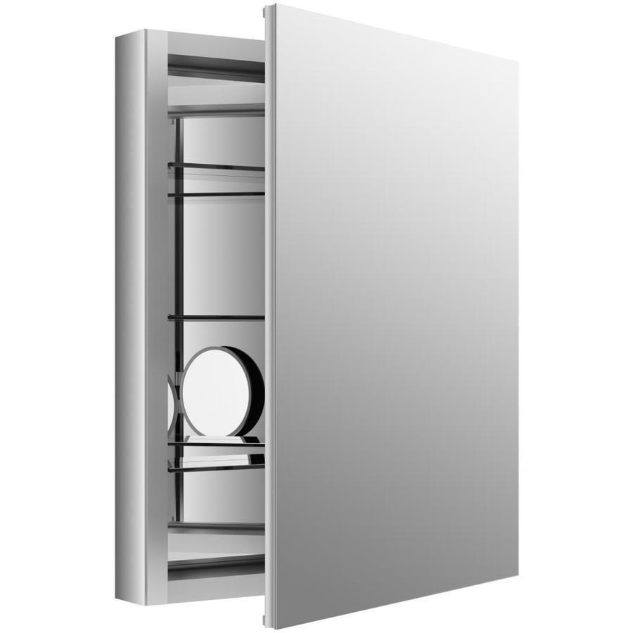 Kohler Verdera 24 In X 30 In Rectangle Surface Recessed Mirrored Aluminum Medicine Ca