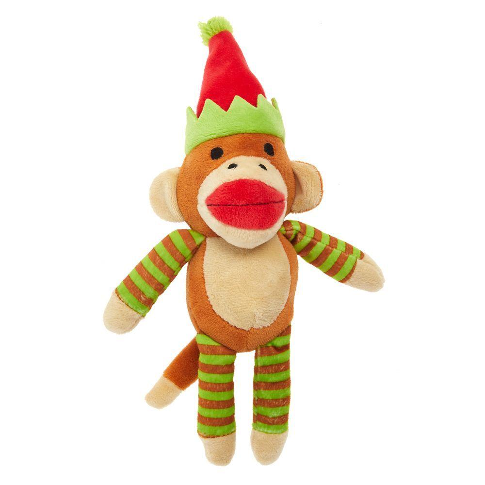 PetSmart Pet Holiday, Sock Monkey Dog Toy