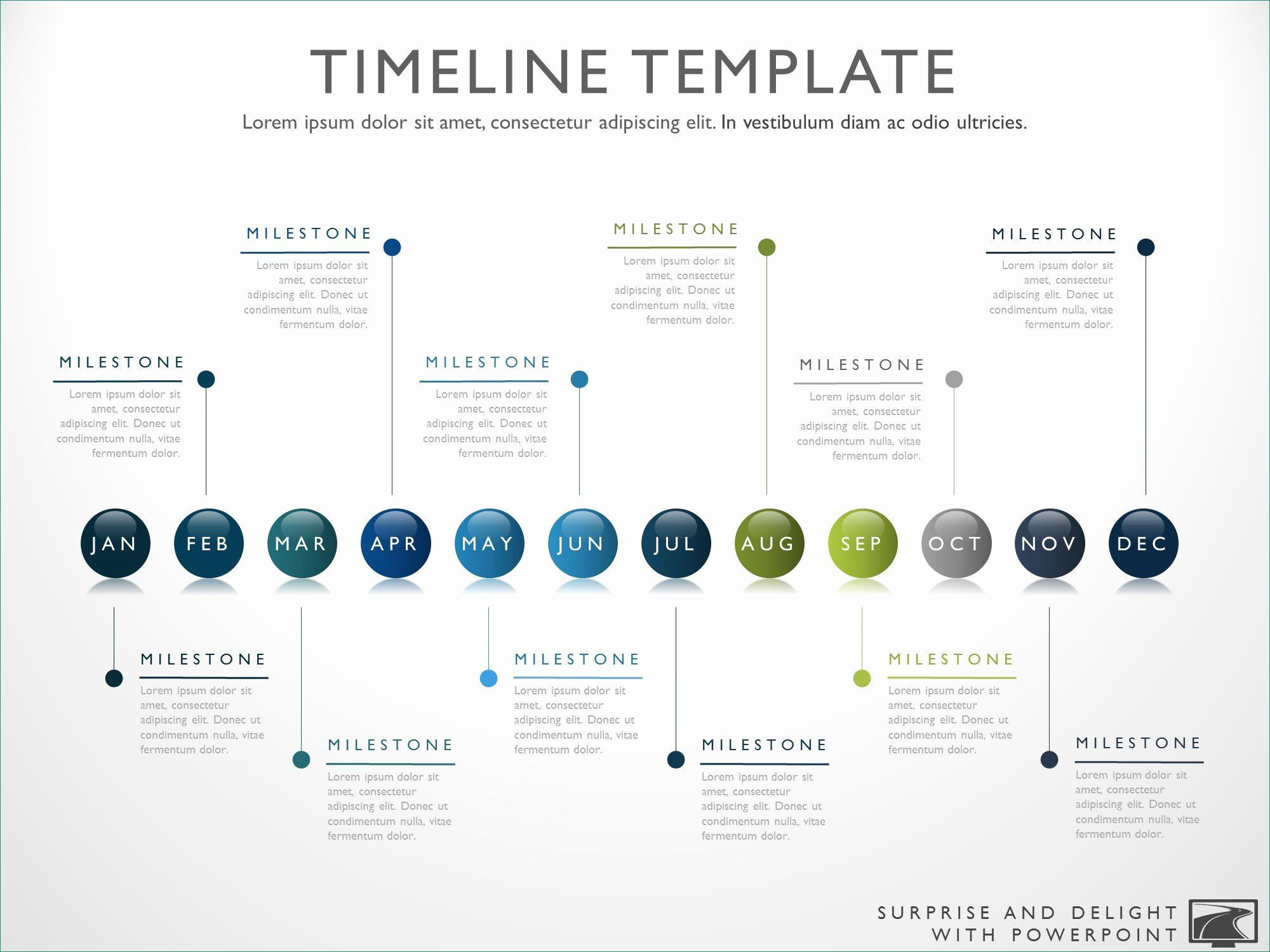 Powerpoint Timeline Template Free Cool Timeline Template Powerpoint Free Microsoft Powerpoint Timeline Template Free Timeline Design Project Timeline Template