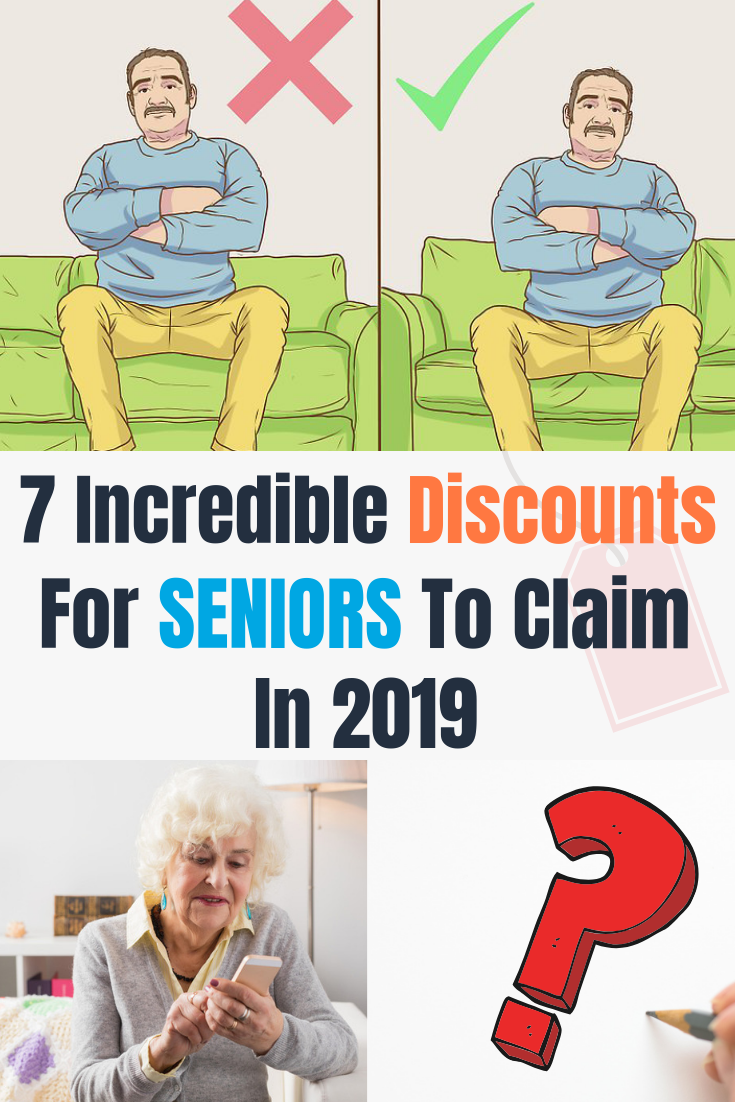 7 Incredible Discounts For Seniors To Claim In 2019 With Images
