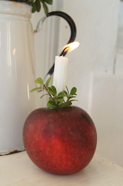 manzana iluminada