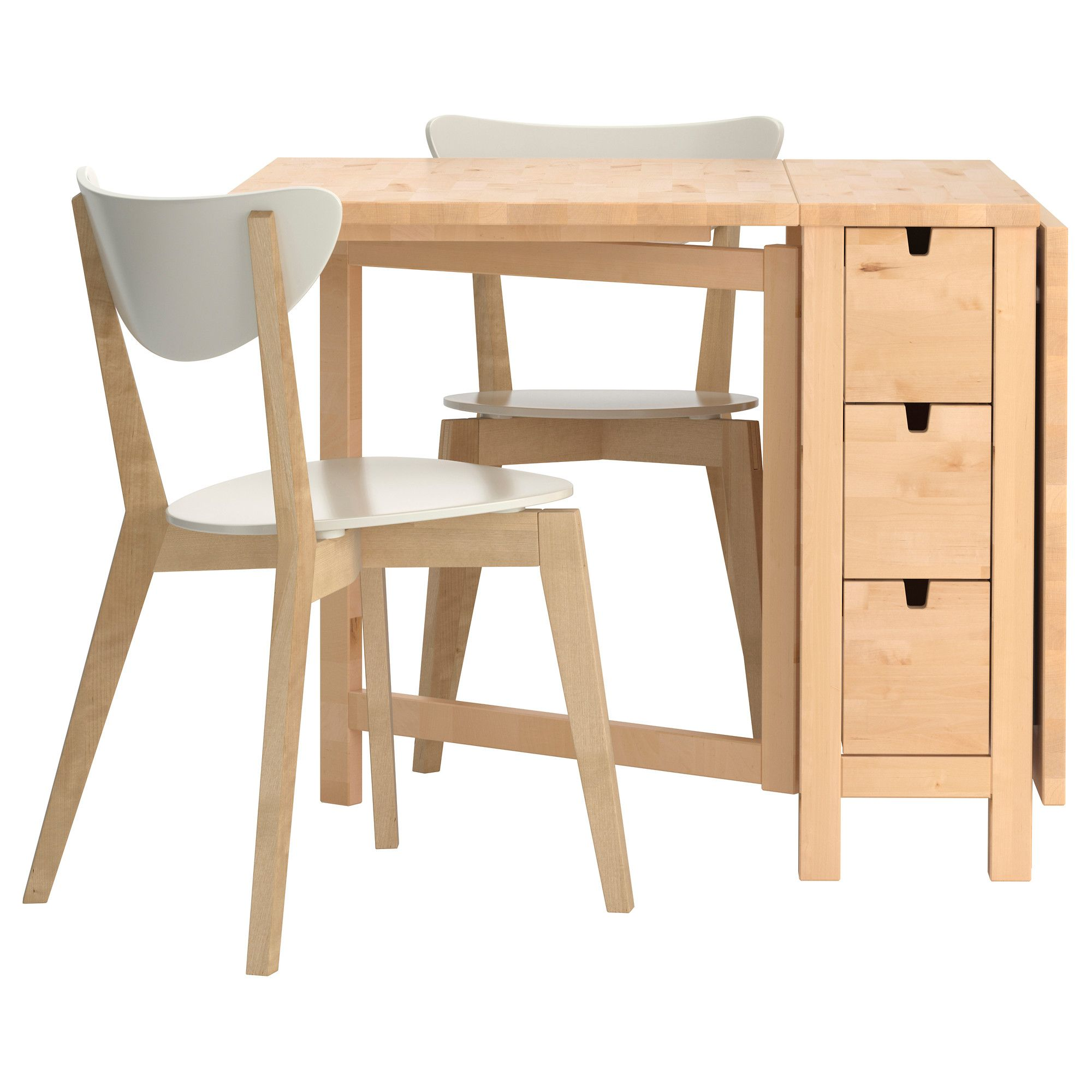 Ikea table pliante norden table chaises ikea norden table for Table de norden ikea