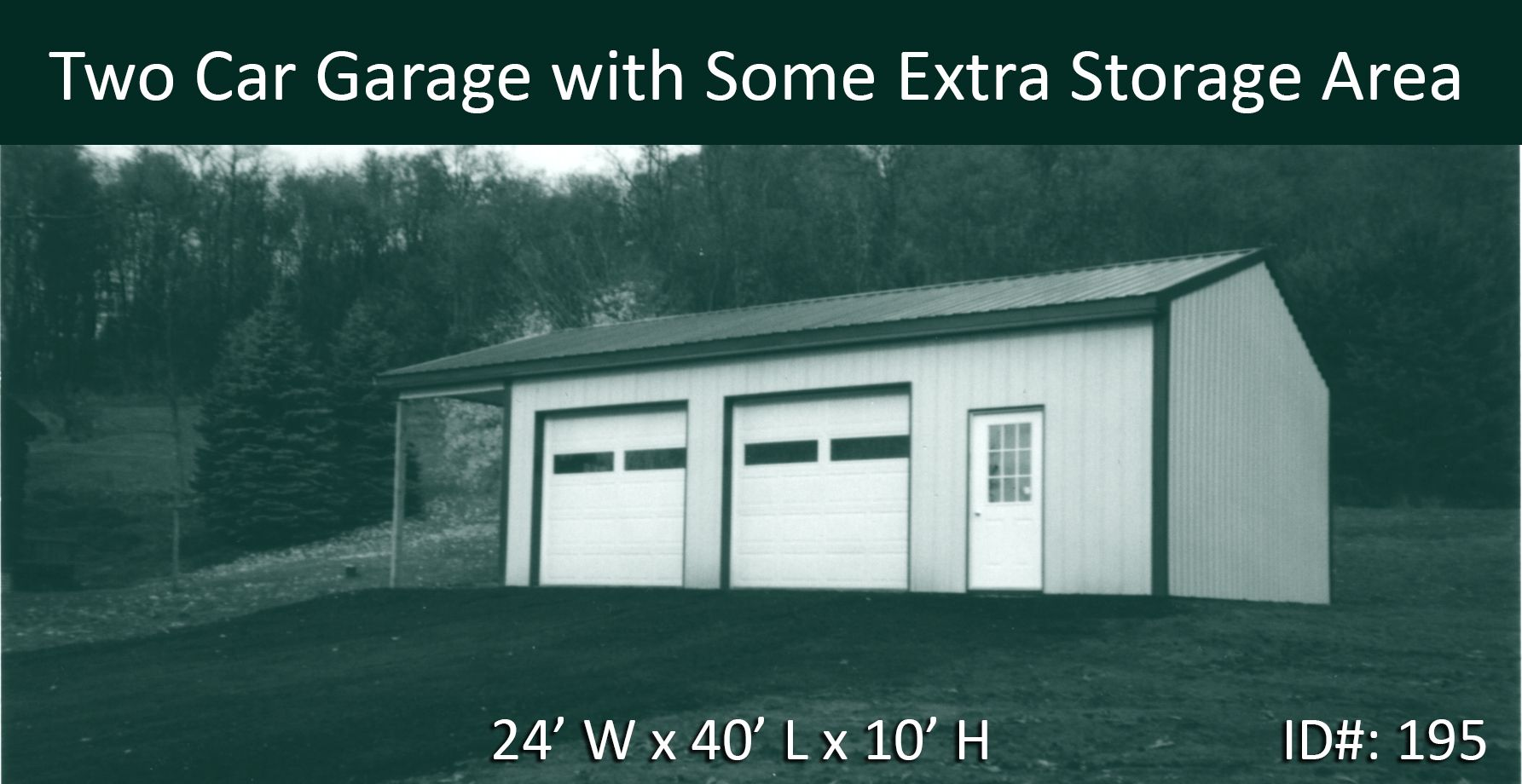 This Is More Than Just A Two Car Garage Dimensions 24