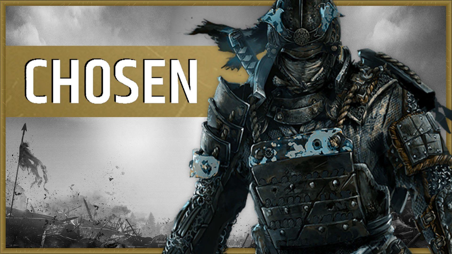 Chosen For Honor For Honor Samurai For Honour Game Ubisoft
