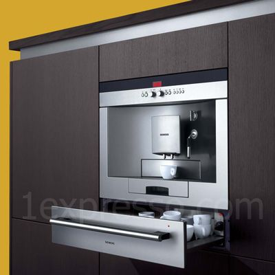 For my small caffine addiction -My dream kitchen includes a built-in espresso  machine