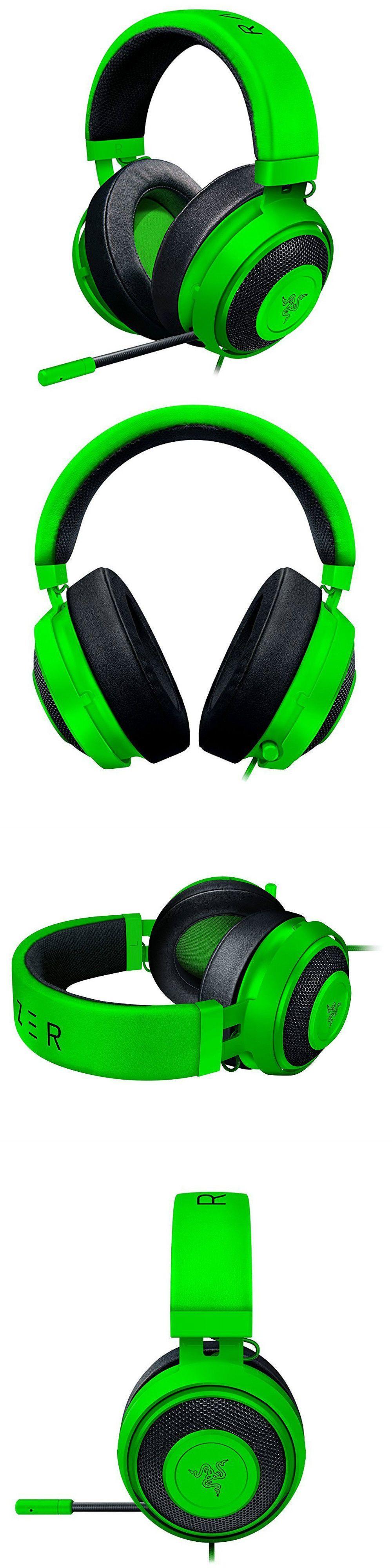 Razer Kraken Pro V2 Analog Gaming Headset For Pc Xbox One Ps4 Green Black Headsets 80183