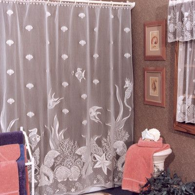 Heritage Lace Seascape Shower Curtain