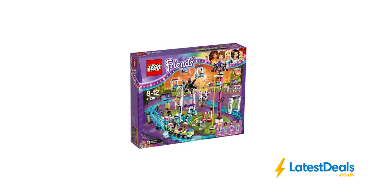 Lego Friends Amusement Park Roller Coaster Free Delivery 6299 At