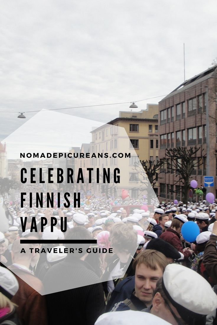 4494476628f Vappu is the day Finns come together in the streets to celebrate ...