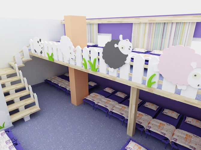 Erse kindergarten design istanbul kids children for Sleeping room interior design