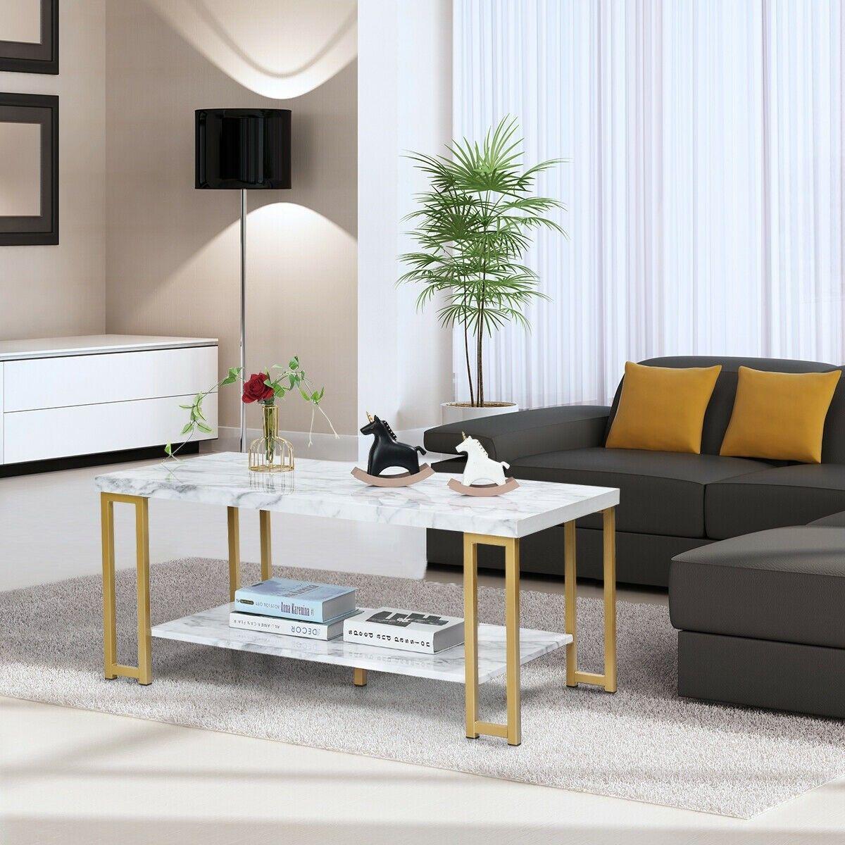 2tier modern coffee table rectangular coffee table