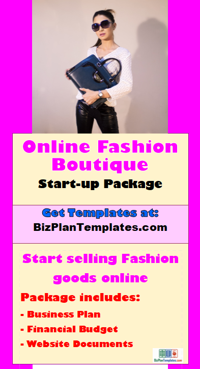 Send you a full ecommerce online fashion boutique business plan full start up kit set up for selling clothing accessories and other fashion items on over the internet package comes with a complete business plan friedricerecipe Gallery