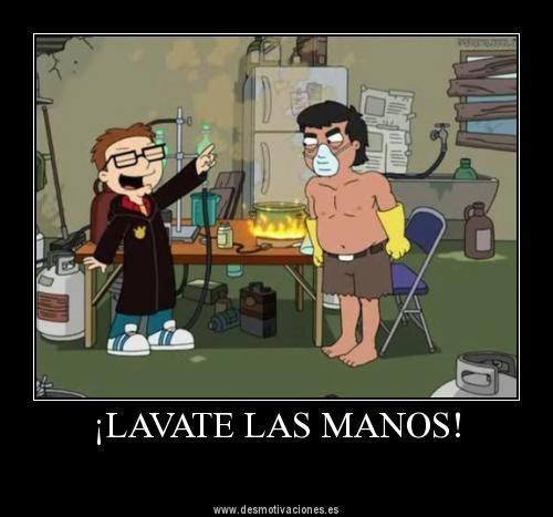 Lavate Las Manos American Dad Family Guy Funny
