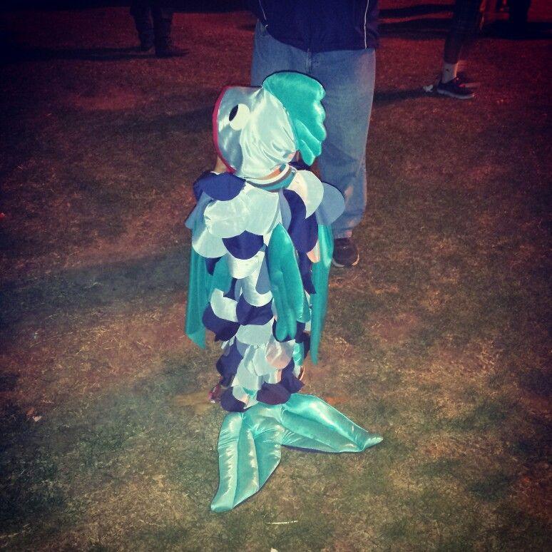 Toddler fish Halloween costume 2013