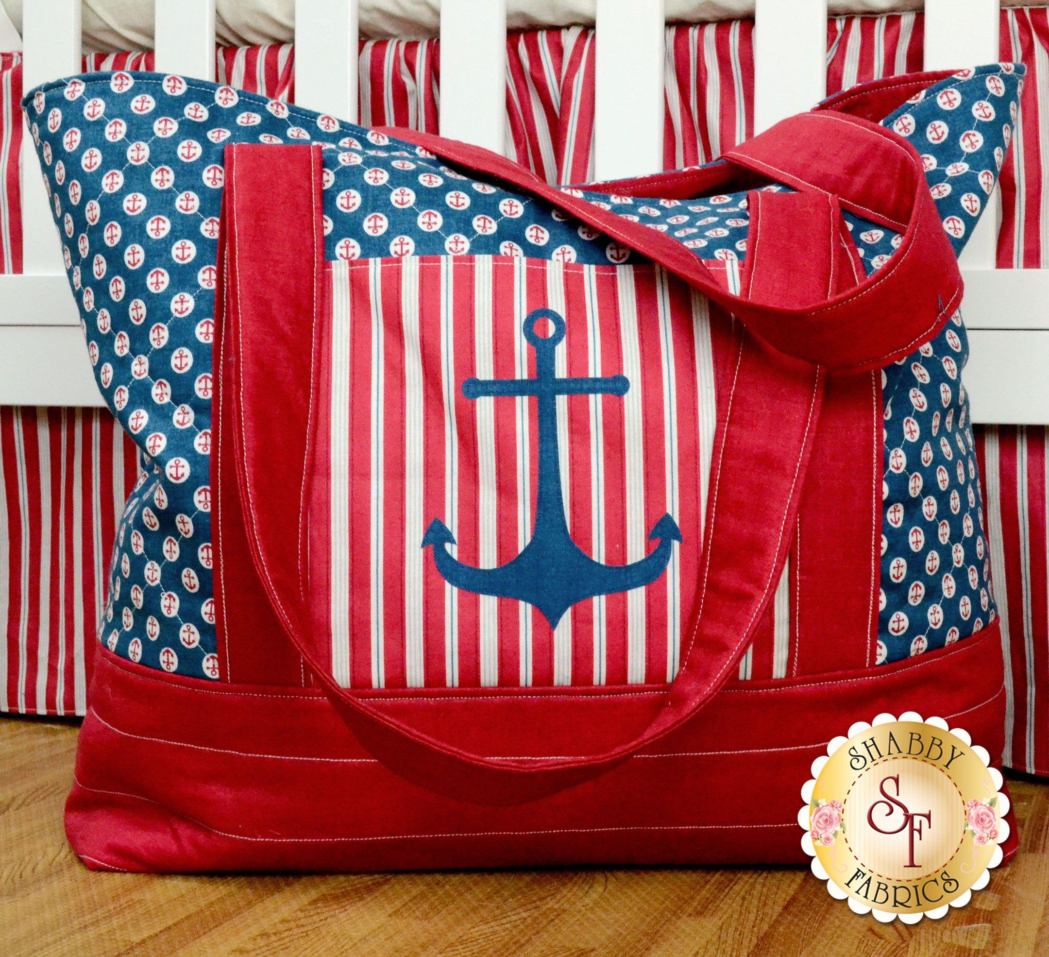 Ahoy! It\'s A Boy! Diaper Bag Kit