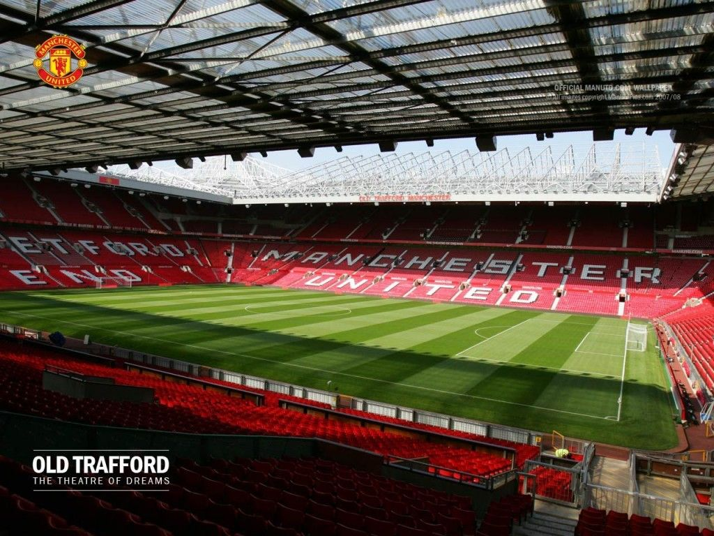 Manchester United Old Trafford Stadium Wallpapers HD