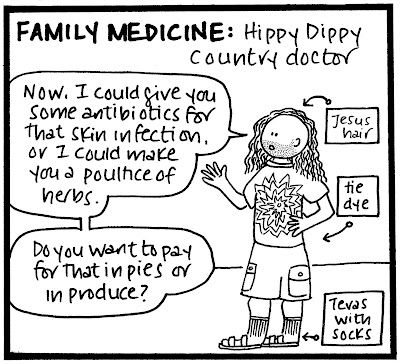 Medical Specialty Stereotype #3: Family Medicine   Funny to