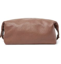 eb5c4affa6 Polo Ralph Lauren Full-Grain Leather Wash Bag