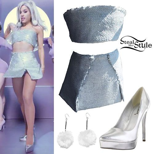 Ariana Grande Focus Music Video Outfits Ariana Grande 3