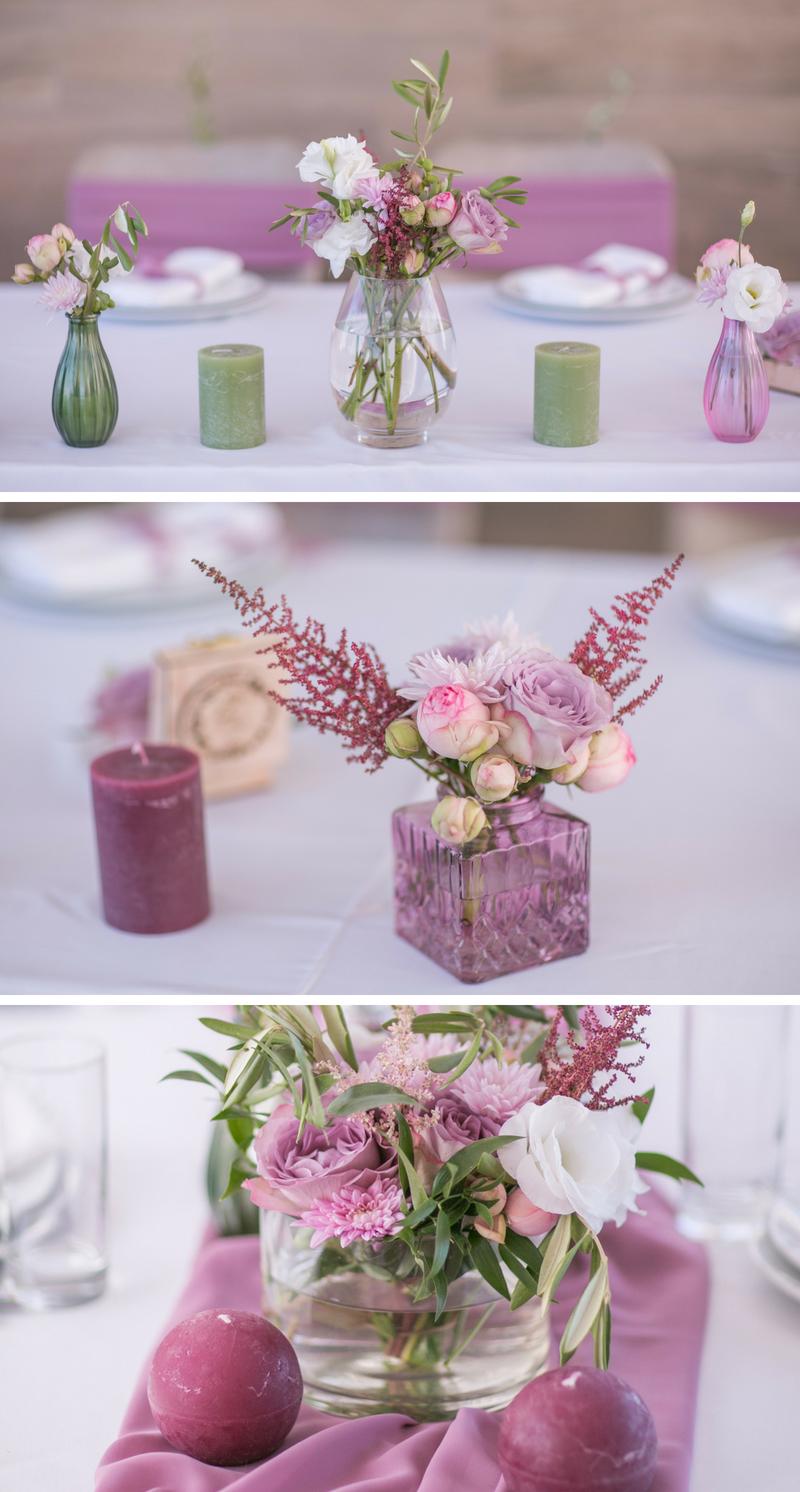 Hochzeit In Lila Eleganz Ideensammlung Tischdeko Hochzeit