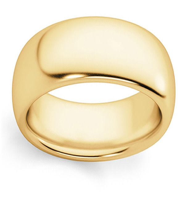 10mm Wide Plain Wedding Band Ring In 14k Gold Wedding Ring Bands Plain Wedding Band Band Rings