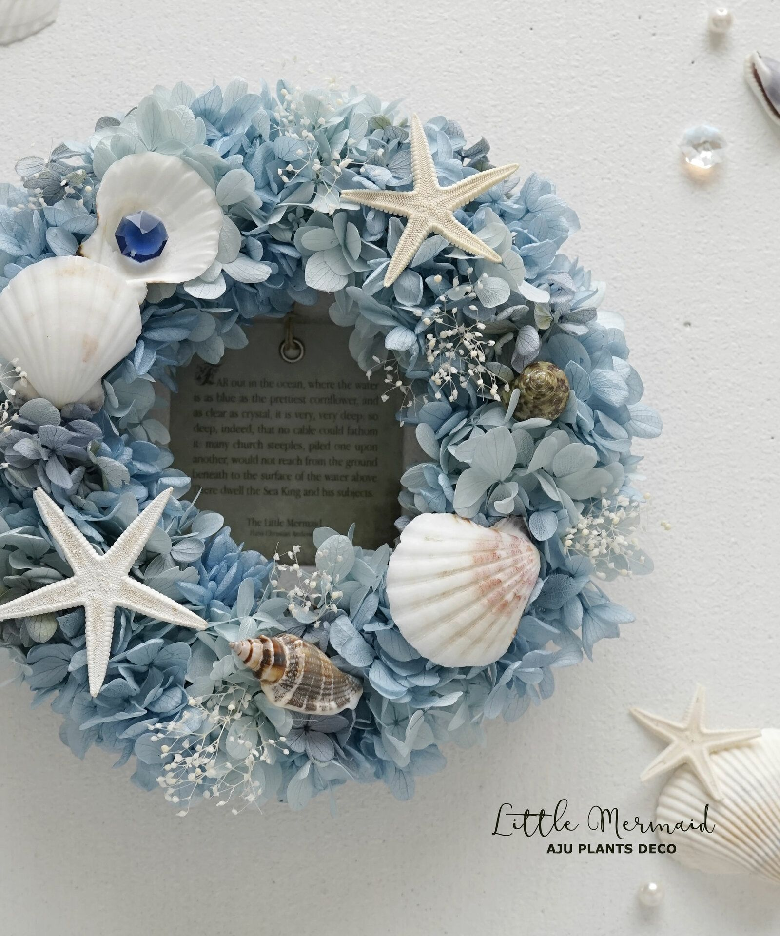 Summer Wreath ~ Little Mermaid ~ 20cm (Preza)