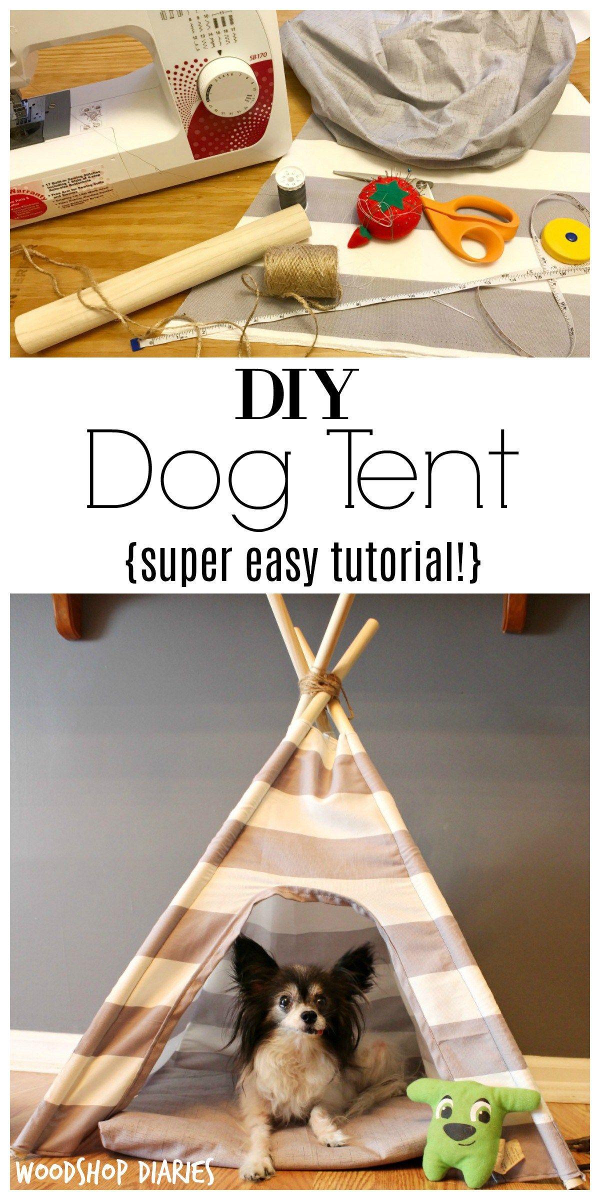 DIY Dog Tent -   18 diy Dog tent ideas