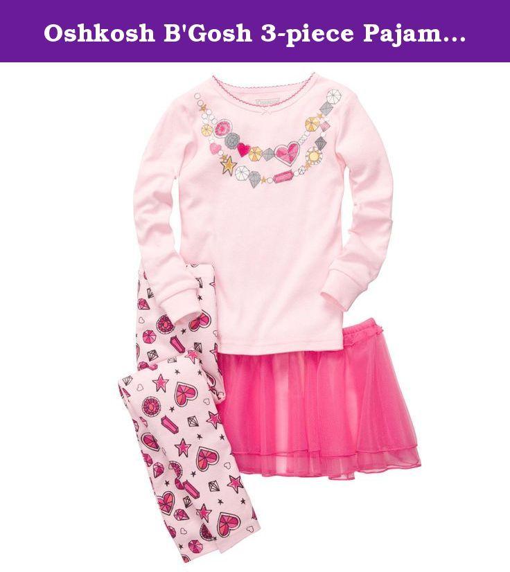 bbed7581a Oshkosh B Gosh 3-piece Pajama Tutu Set (6M-24M) (6 Months…