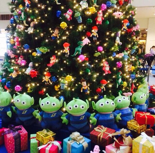 Christmas Tree With Toys : Toy story christmas tree so cute i absolutely love