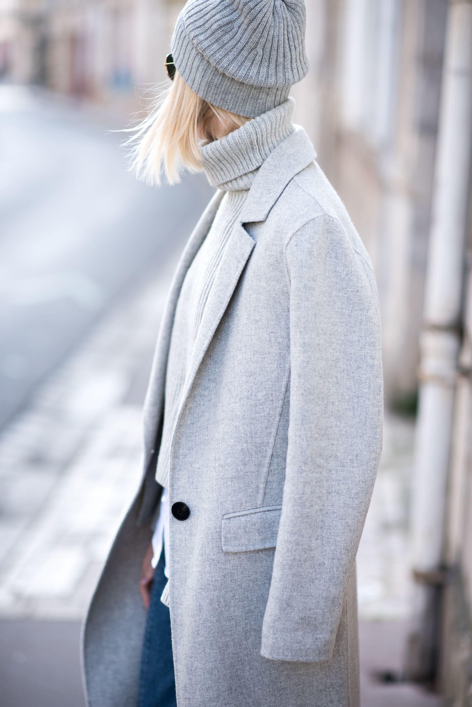 Grey beanie / Anna Sofia - Style Plaza