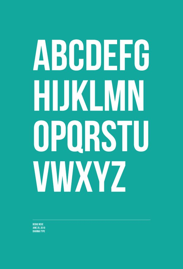 Font Posters By Katherine Gaskin Via Behance Poster Fonts Word Fonts Typography Letters