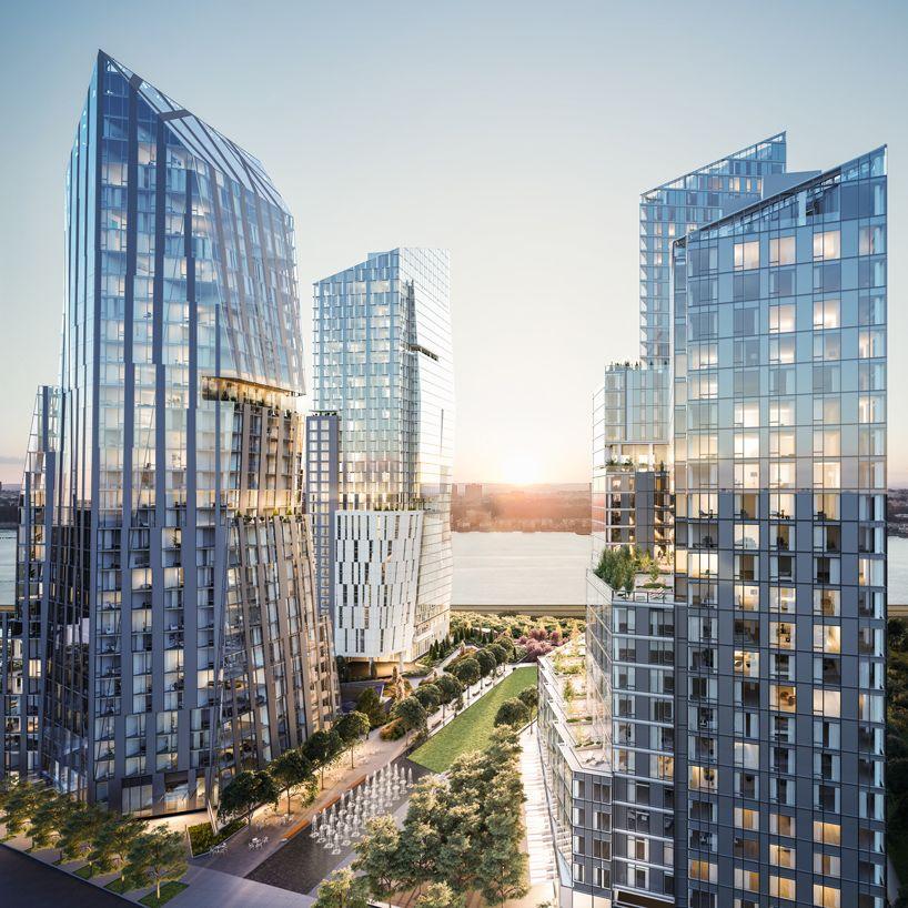 nuevos edificios de viviendas