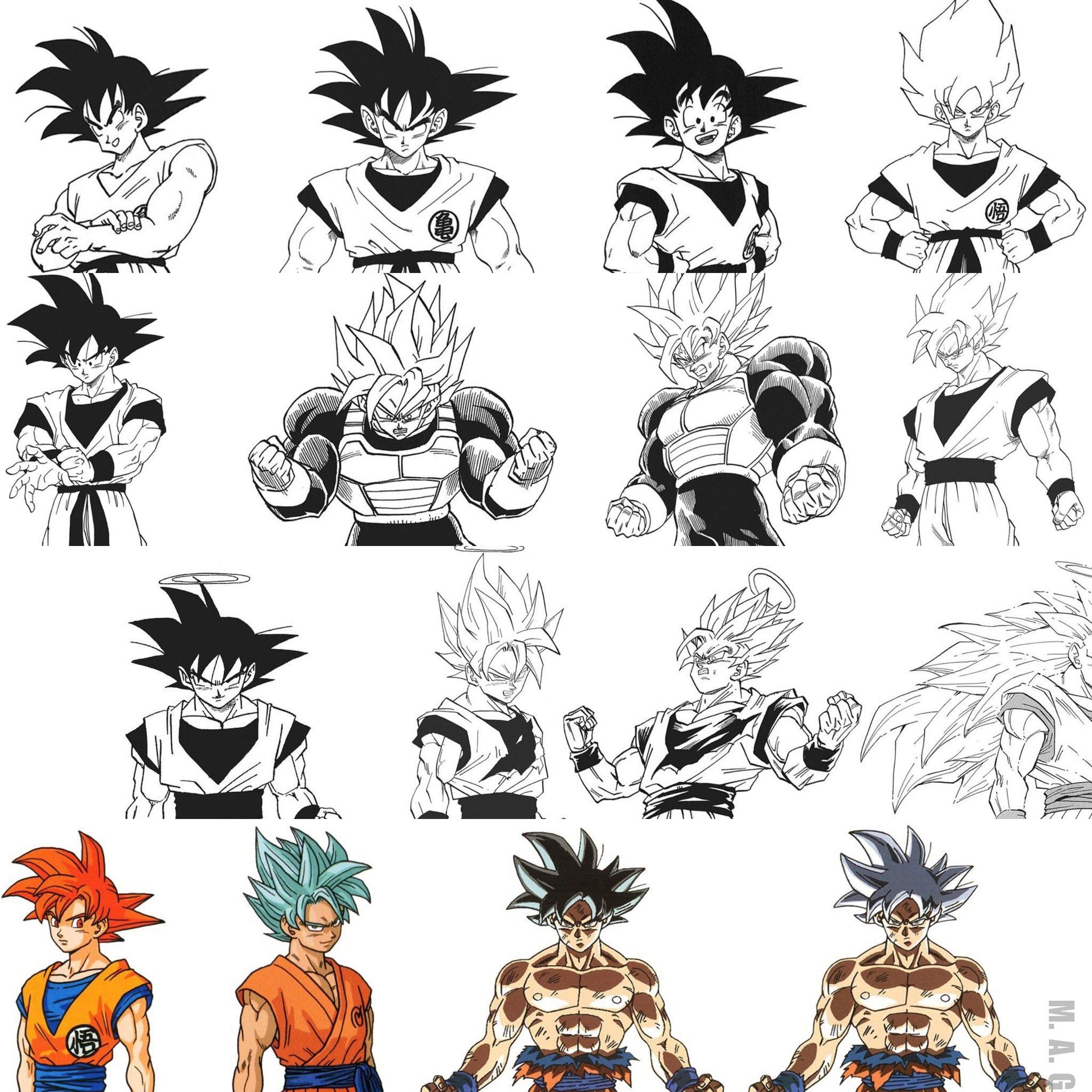 Many A Goku Can T Get Enough Akira Toriyama San Db Dragon Ball Anime Dragon Ball Super Dragon Ball Art Dragon Ball Artwork