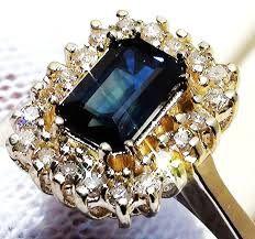 diamond and gem stone rings
