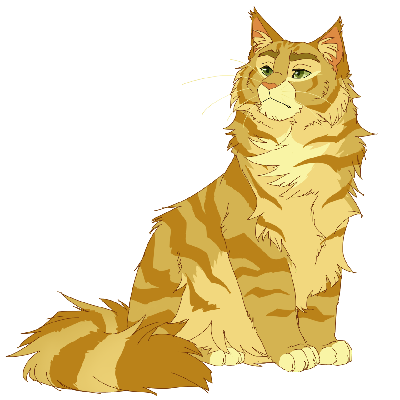 Warriors Into The Wild Online: 100 Warrior Cats Challenge #29: Lionheart (Feel Free To
