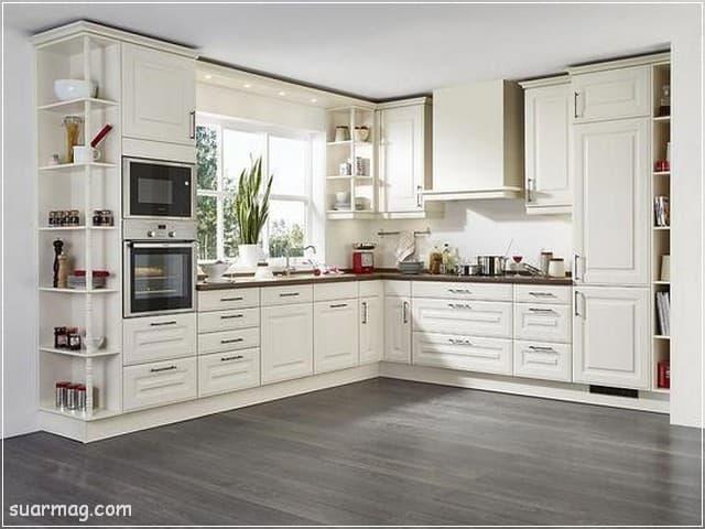 اجمل صور ديكورات مطابخ صغيرة وكبيرة 2020 مودرن مجلة صور Kitchen Layout Kitchen Interior Kitchen Remodel Small
