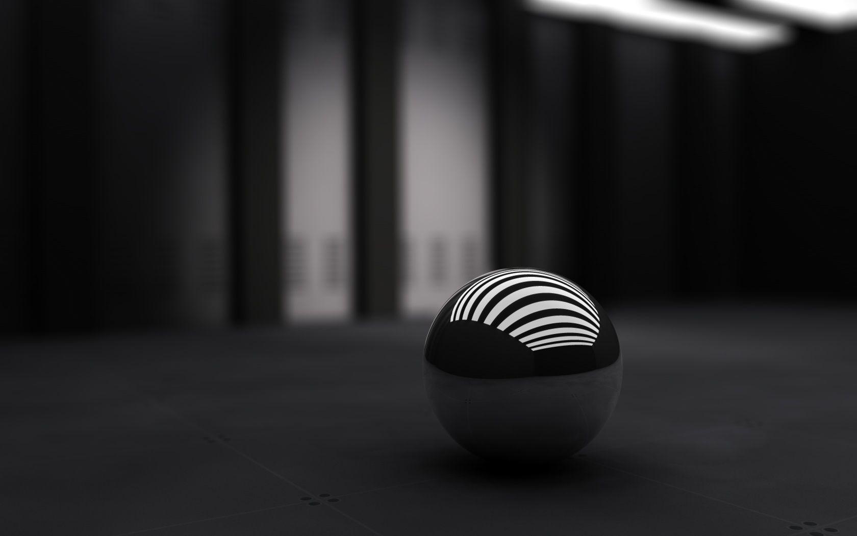 3d Black Ball Wallpaper Hd Black Wallpaper Dark Wallpaper Cool Black Wallpaper