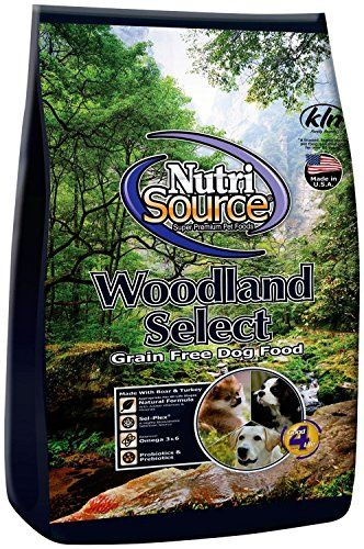 Nutri Source Woodlands Select Gf Dog Food 15 Lb Click Affiliate