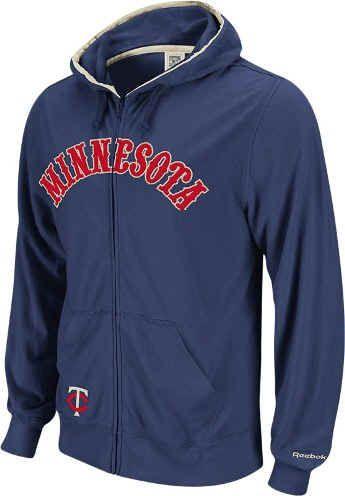 the best attitude 90b91 0291b Minnesota Twins Men's Vintage Full Zippered Sweatshirt by ...