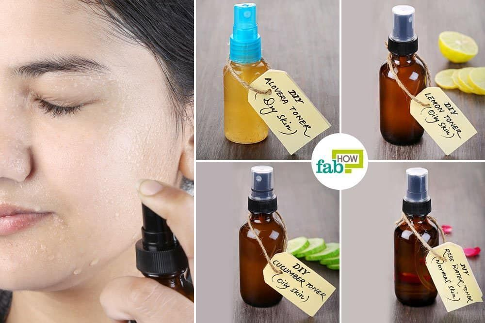 Best diy toner recipes for oily dry acneprone and