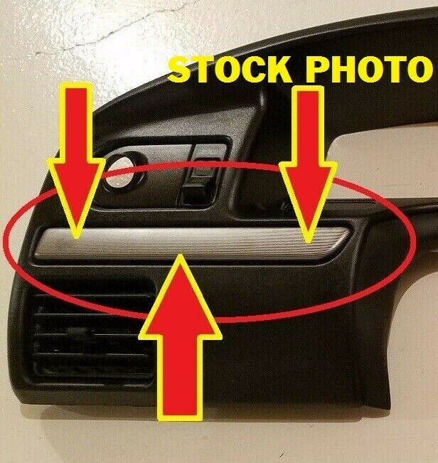 1992 1997 Ford F150 F250 F350 Bronco Dash Trim Strip Bezel Molding Cluster Trims Fordf150f250f350f150f250f350trucktrucks Used Car Parts F150 Vintage Trucks