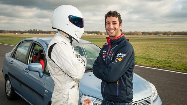 Daniel Ricciardo Betters Lewis Hamilton's Laptime On Top Gear