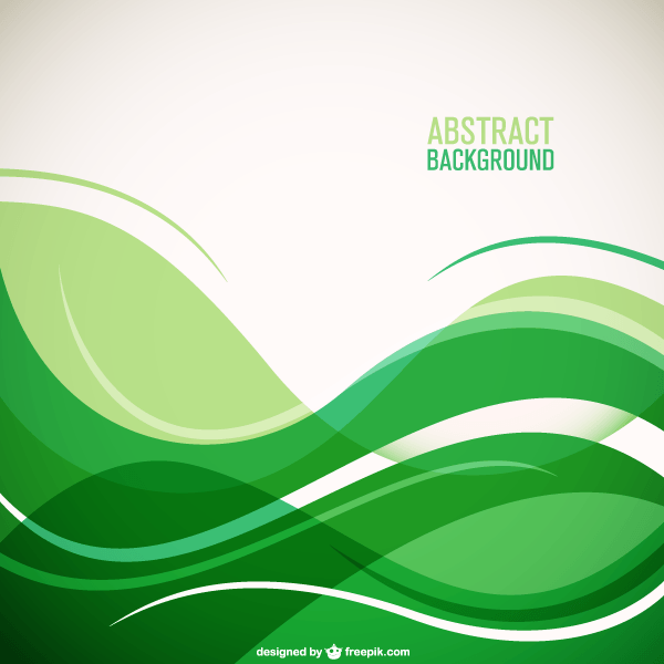 Green Wave Background With Place For Your Text Waves Background Green Wave Vector Free Download