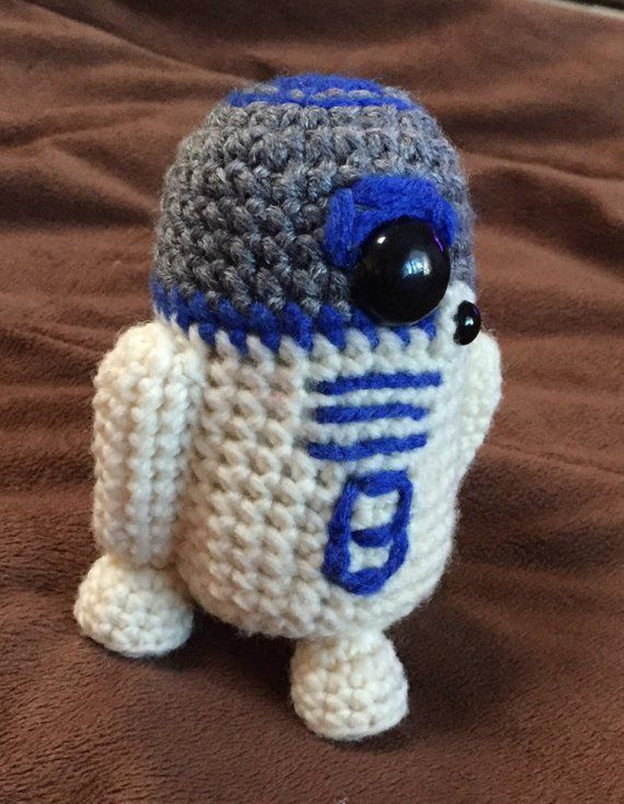 BB8 AND R2D2 Star Wars Inspired Crochet Patterns 2 for 1 | yoda ...