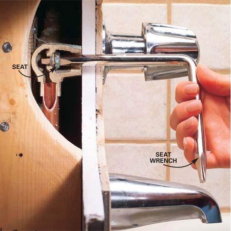 How To Fix A Leaking Bathtub Faucet Faucet Repair Bathtub