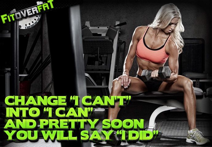 FitOverFat's Ultimate Motivational Bodybuilding Posters [Women's Edition]