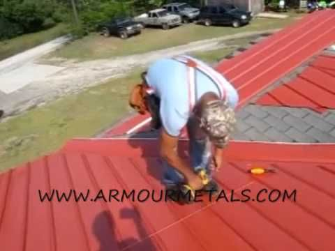 How To Measure And Install Multi Rib Or Armour Rib Metal Roofing Part 3 Youtube Green Roof Metal Roof Roof Repair