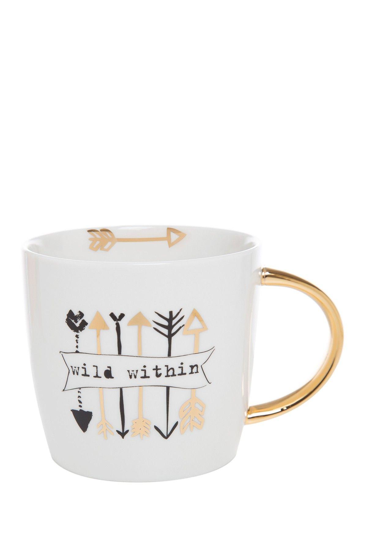 Slant Designs | Wild Within Mug - 14 oz | Gift Guide | Diy ...