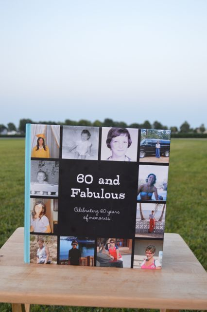 A Book Of Memories For A Milestone Birthday